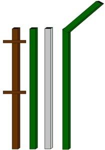 изготовление металлические столбы в Нижнем Новгороде